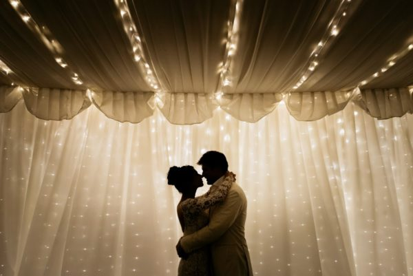 Fairy Light Curtains Queenstown Wedding Hire