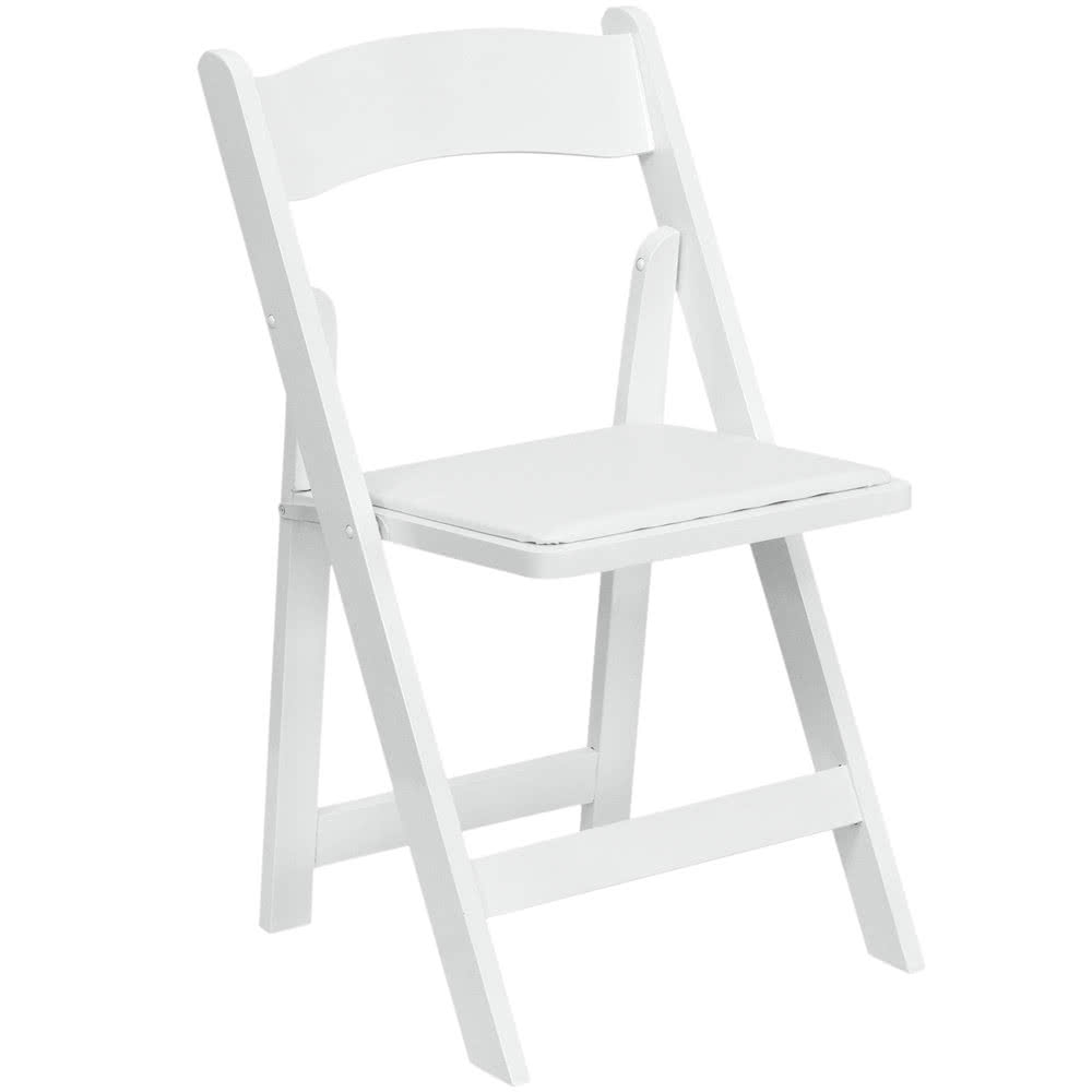 Gladiator chairs white